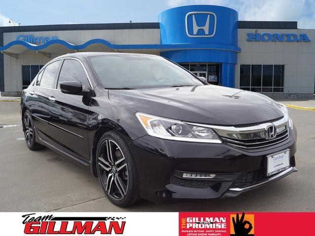 Certified Pre-Owned 2016 Honda Accord Sedan Sport LEATHER CERTIFIED PRE-OWNED