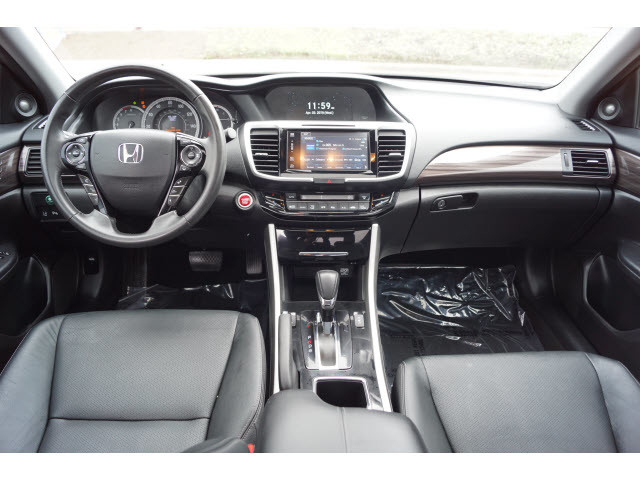 Pre Owned 2017 Honda Accord Sedan Touring Leather Interior Sunroof