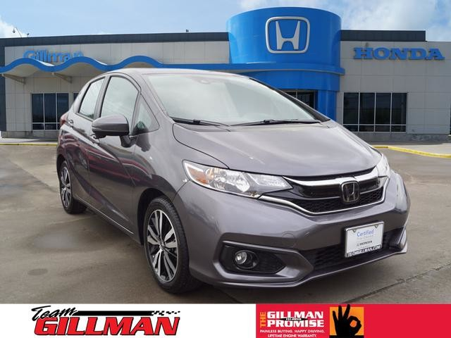 Certified Pre-Owned 2018 Honda Fit EX-L SUNROOF LEATHER INTERIOR CERTIFIED PRE-OWNED