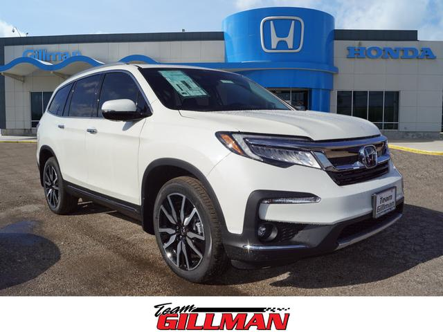 New 2019 Honda Pilot Touring w/Rear Captains Chairs