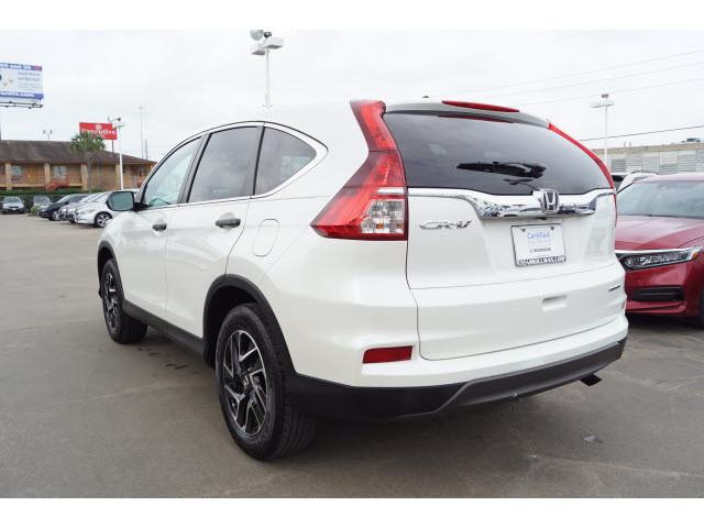 Certified Pre Owned 2016 Honda Cr V Se Alloy Wheels