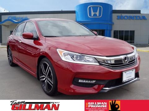 Certified Pre-Owned 2017 Honda Accord Sedan Sport LEATHER INTERIOR ALLOY WHEELS CERTIFIED PRE-OWNED