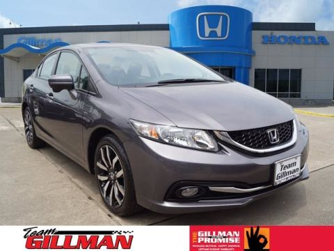 Pre-Owned 2015 Honda Civic Sedan EX-L LEATHER INTERIOR