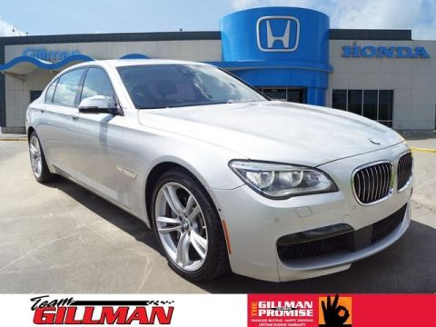 Pre-Owned 2015 BMW 7 Series 750Li LEATHER SUNROOF